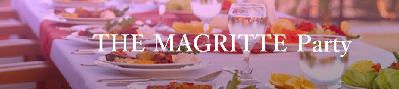 ワクワクするなら、ザ・マグリット 宴会・パーティ
