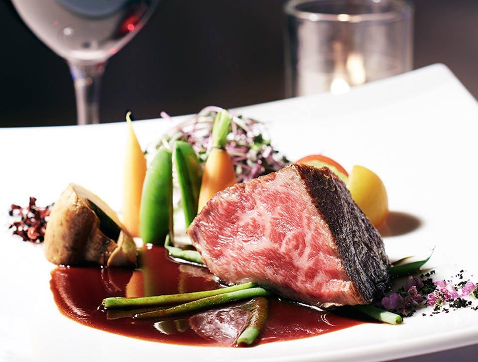 コース料理・肉料理 特別感 満足感