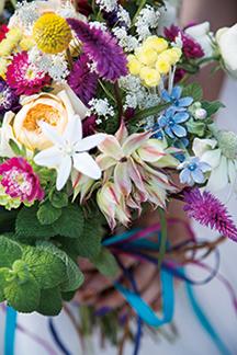 有料サービス 季節の花々の花束 フラワーアレンジメント フラワーブーケ