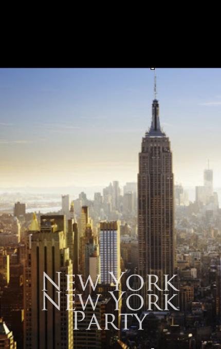 マグリット ニューヨークニューヨークパーティー ニューヨーク大好き人間の集い。
