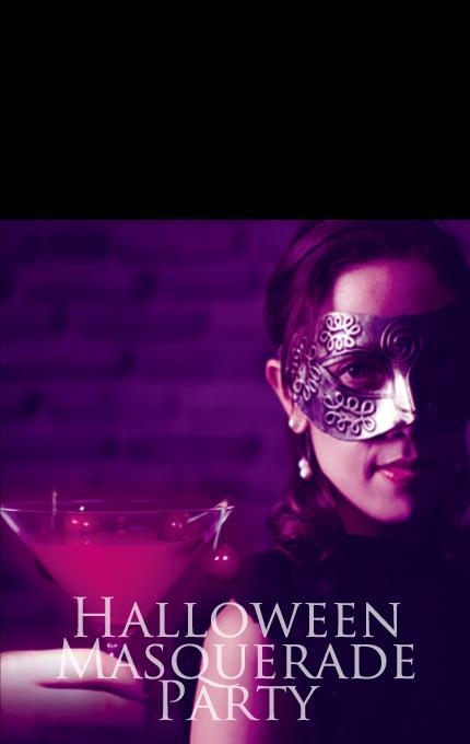 マグリット ハロウィーンマスカレードパーティ ハロウィーンに大人のミステリアスな仮面パーティ