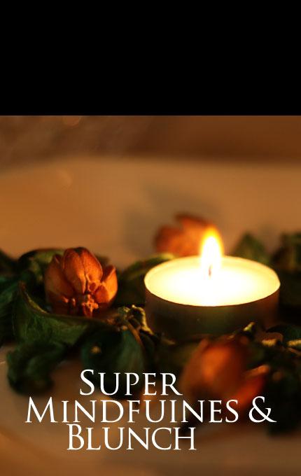 マグリット スーパーマインドフルネス&ブランチ 朝日を浴びて、瞑想そして、おいしいお食事。