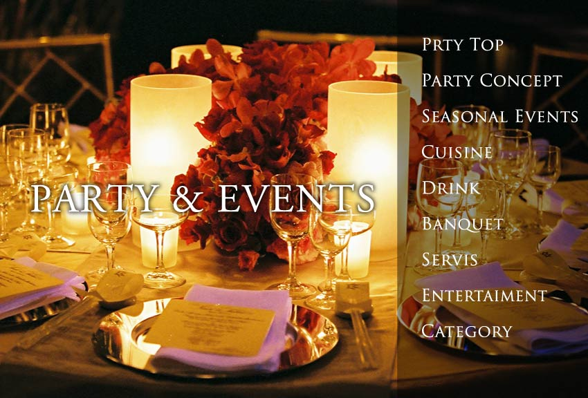 party events パーティーイベント