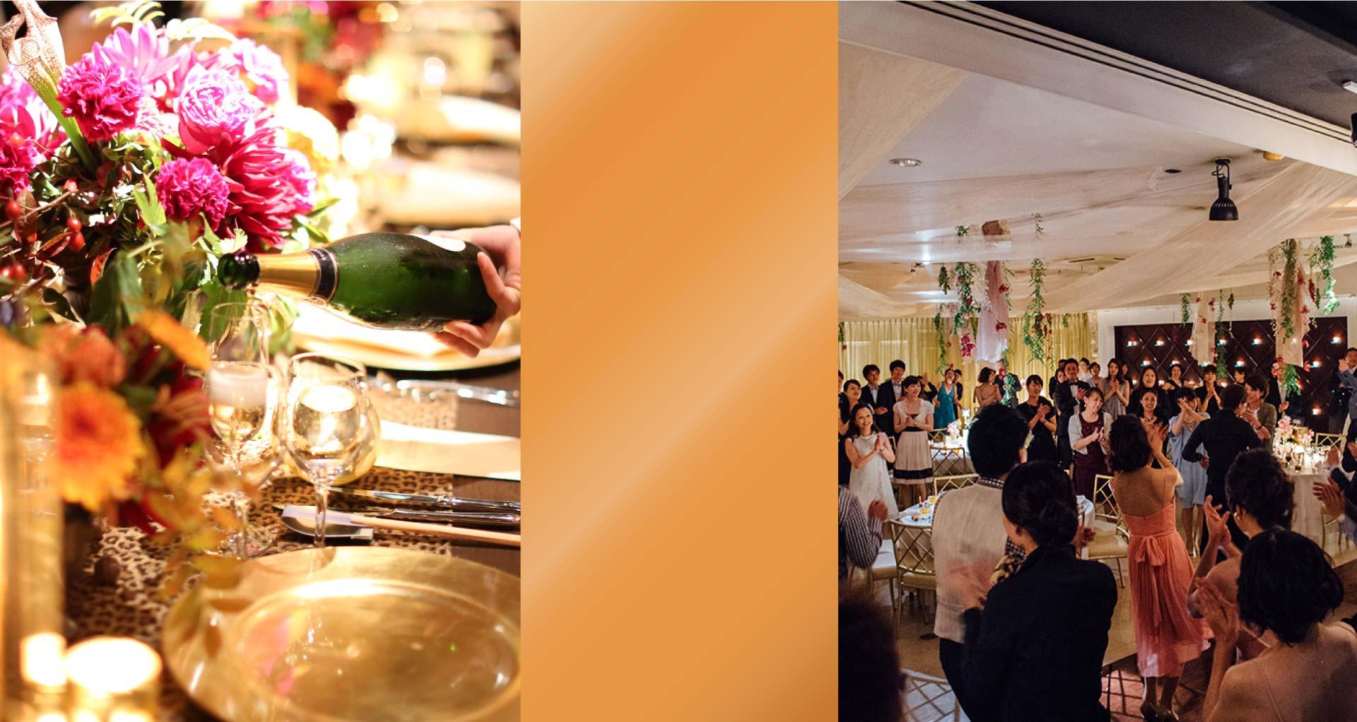 岡山市内 マグリット パーティ&イベント 空間、時間、人間(じんかん)を徹底的にコーディネート