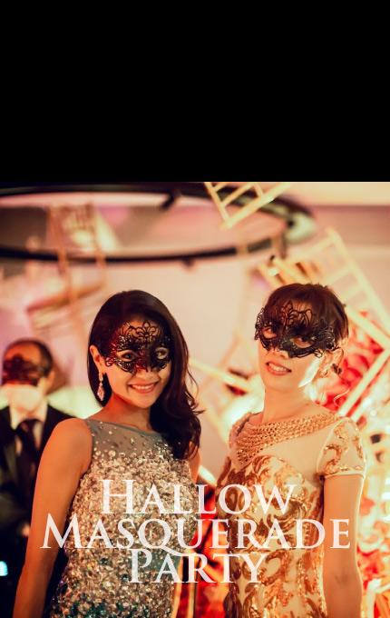 マグリット Magritte ハロウィーンマスカレードパーティー ザ マグリットのハロウィーンパーティーは凄いらしい!